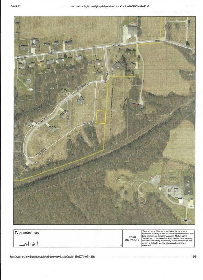 Lot 21 White Tail Circle, Williamsport, IN 47993