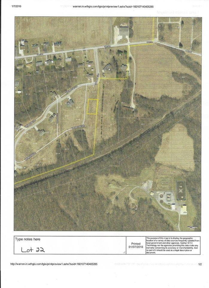 Lot 22 White Tail Circle, Williamsport, IN 47993