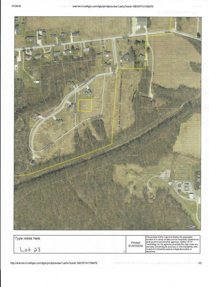 Lot 28 White Tail Circle, Williamsport, IN 47993
