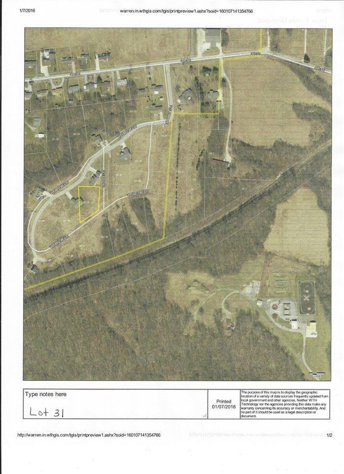 Lot 31 White Tail Circle, Williamsport, IN 47993