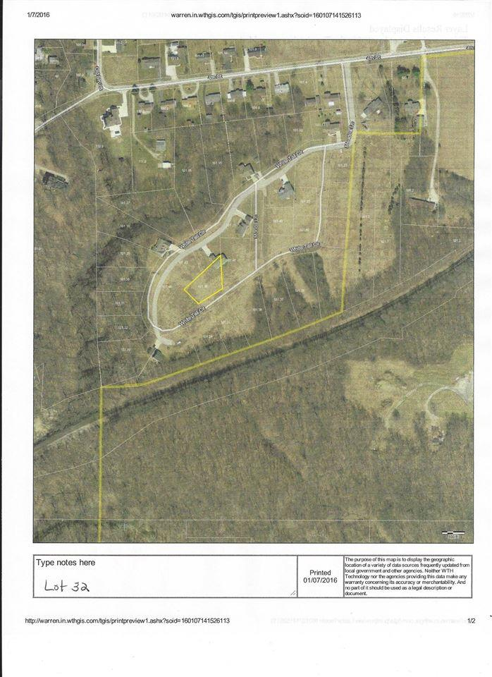 Lot 32 White Tail Circle, Williamsport, IN 47993