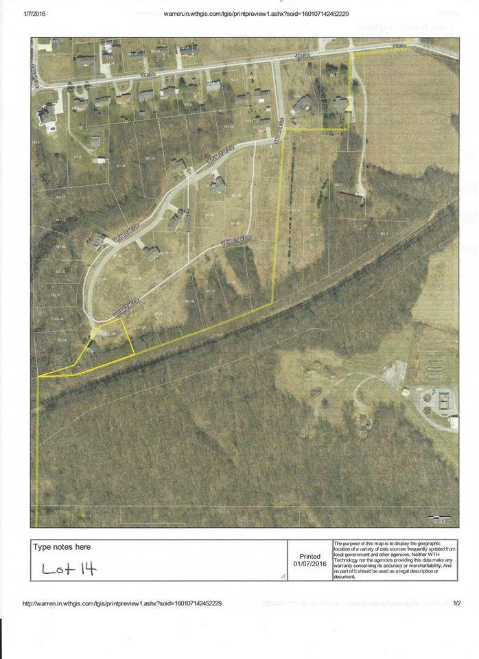 Lot 14 White Tail Circle, Williamsport, IN 47993