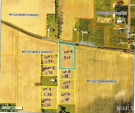 S 900 E, Mill Creek, IN 46574