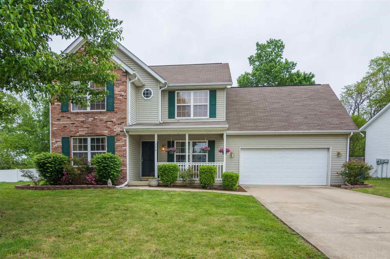 348 Persimmon Court, W., Bloomington, IN 47403