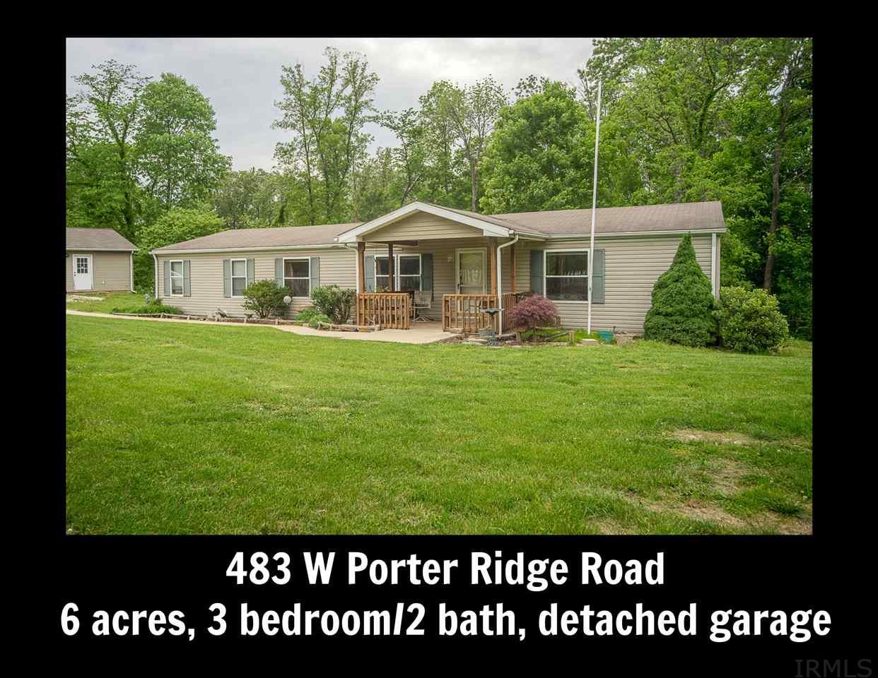 483 W Porter Ridge, Spencer, IN 47460