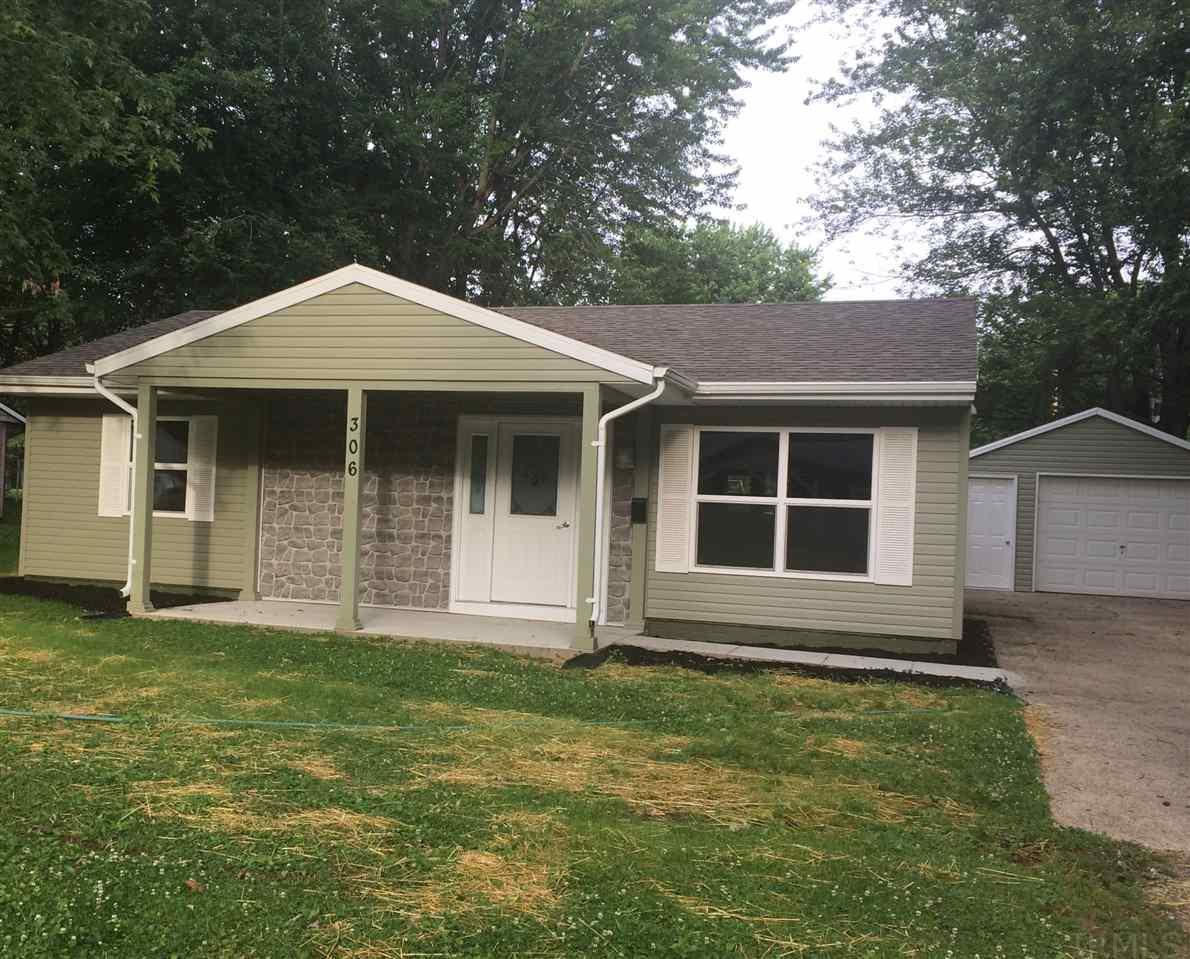 306 Oak, Williamsport, IN 47993