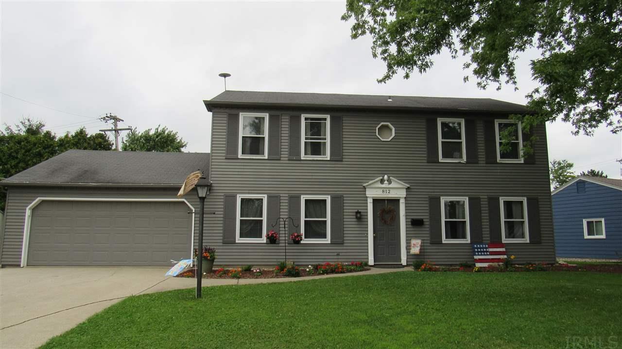 812 Hawthorne, Auburn, IN 46706