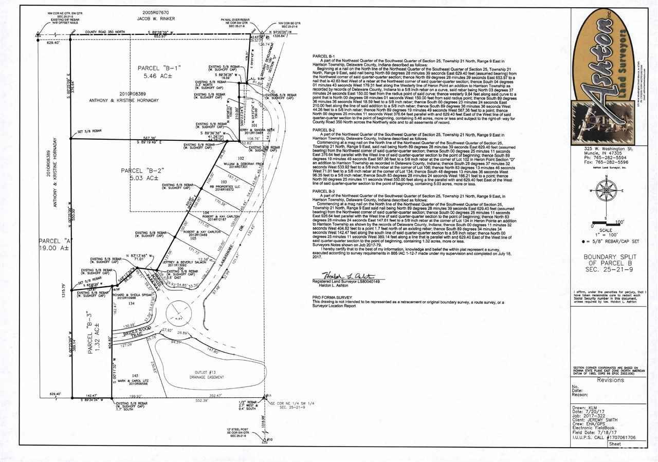 Parcels B-  Bridlewood Trail Muncie, IN 47304