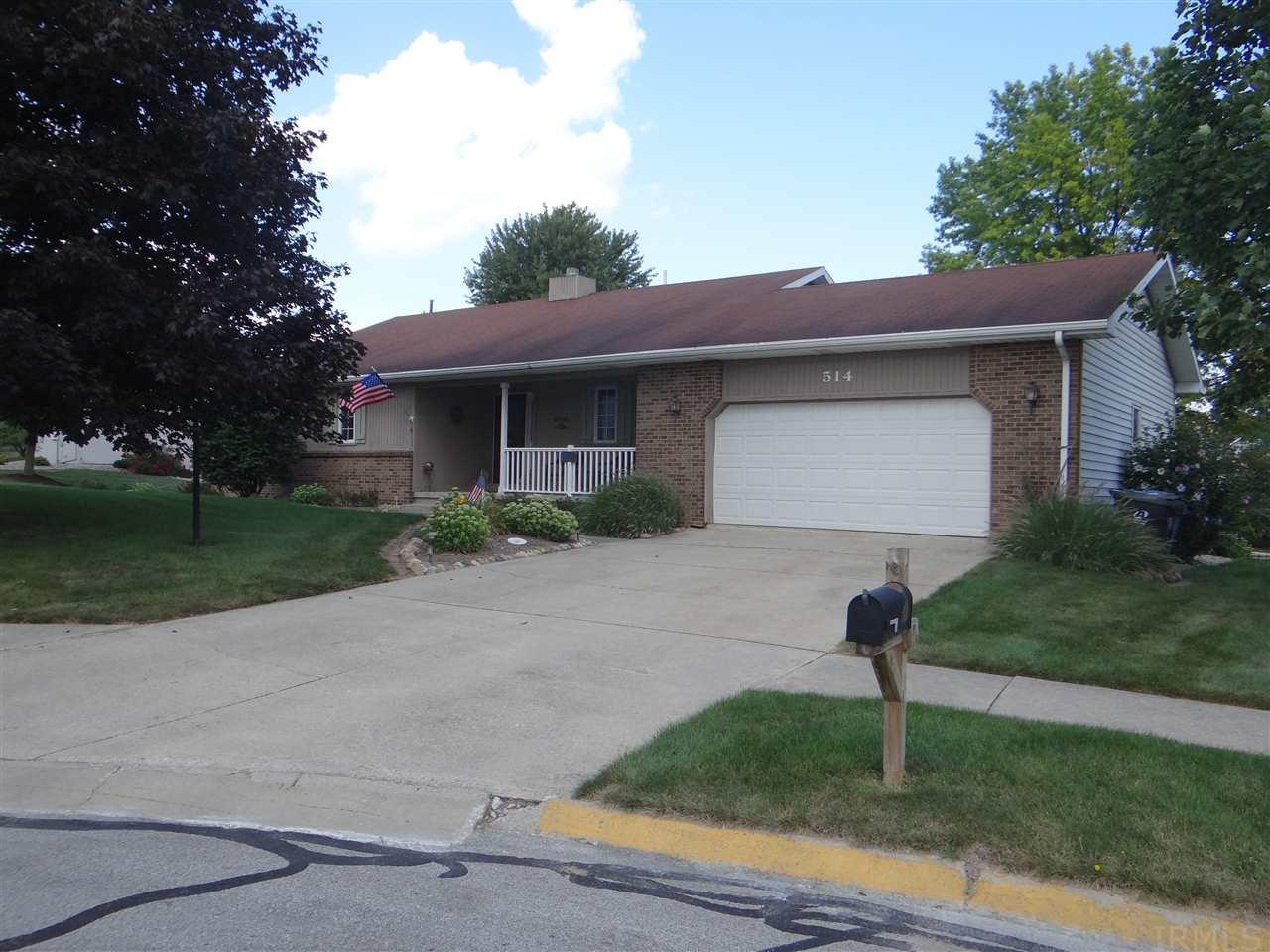 514 N Shore  Court, Columbia City, IN 46725