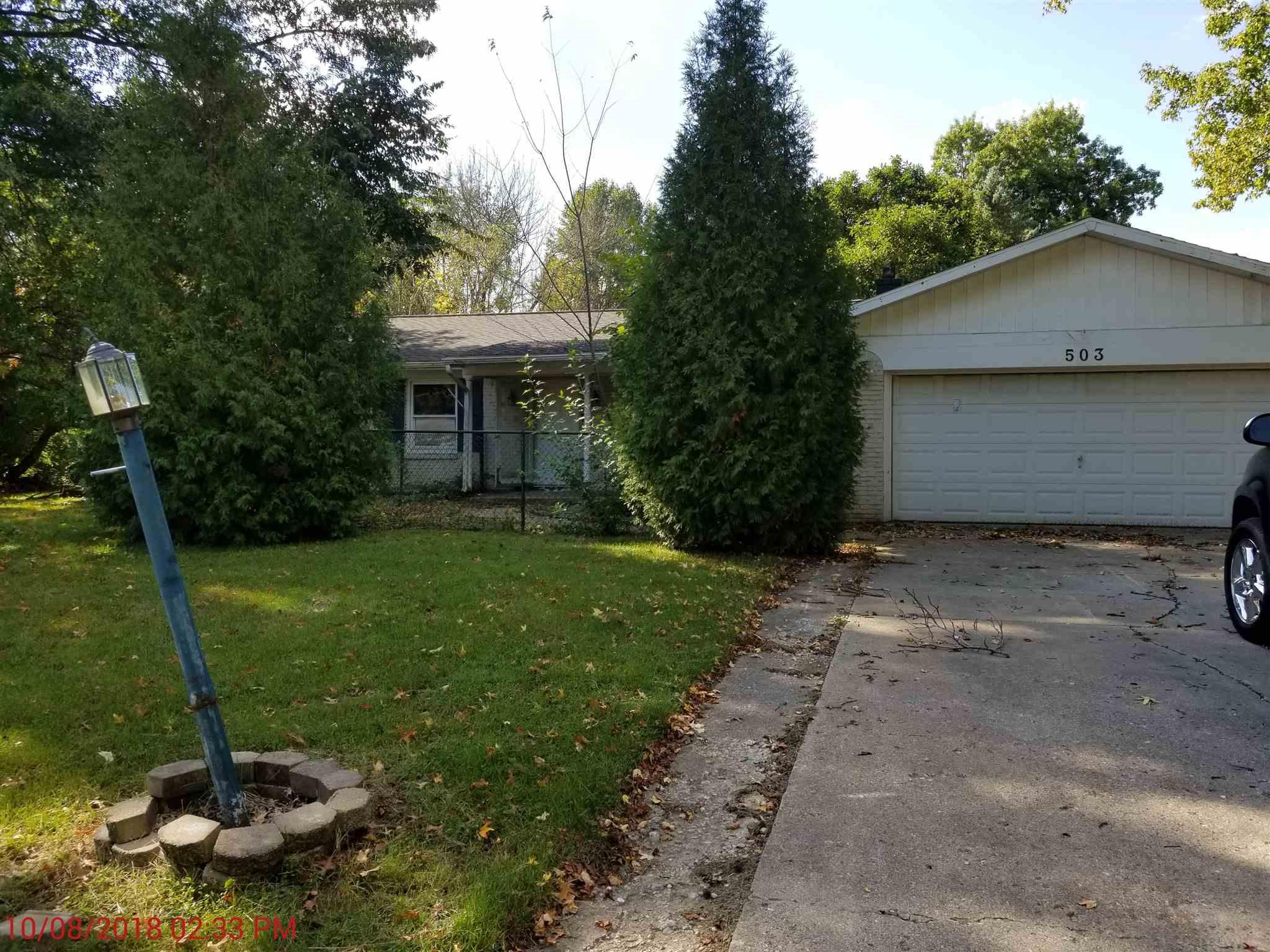 503 N 480 west, Kokomo, IN 46901