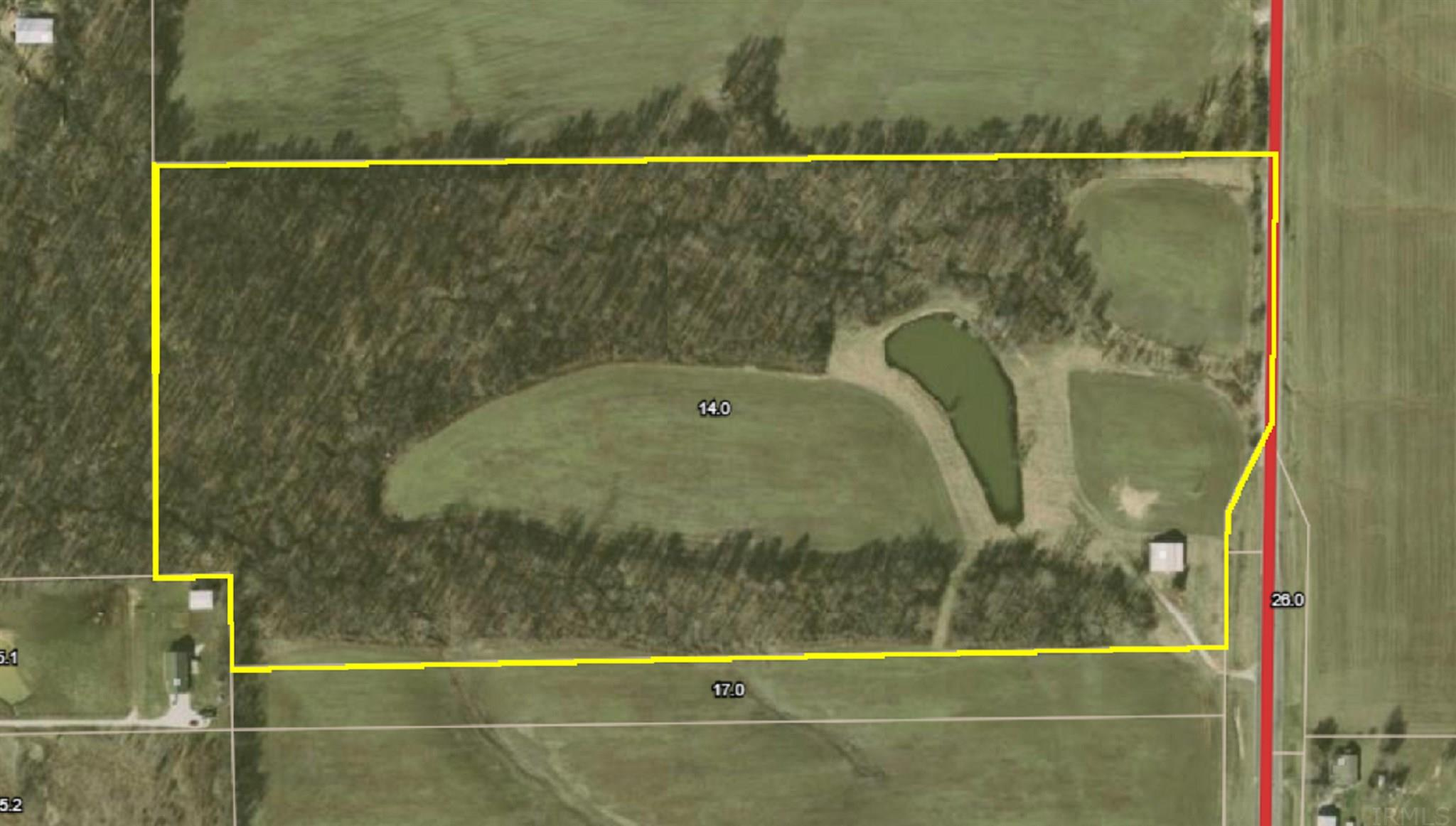 39 Acres 7555 S State 257 Road, Washington, IN 47501