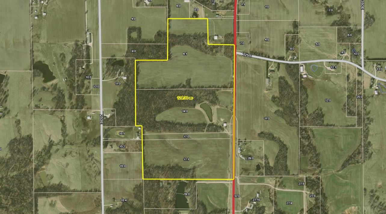 127 Acres 7555 S State 257 Road, Washington, IN 47501