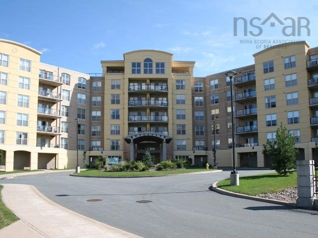 Welcome to The Tides!  Experience the convenience of this Bedford location. This Penthouse suite offers over 3200 sq.ft. of interior space for living and entertaining.   Beautifully finished with many custom upgrades including high vaulted ceilings, skylights, granite countertops, AC and lots of cabinetry throughout.  Master Bedroom with  breathtaking views from all 3 balconies that encompass over 1,060 sq.ft. for you to enjoy.  3 indoor parking spaces and a large storage unit are also included.  This condo sits on private grounds that houses outdoor heated pool, large meeting room and exercise room with sauna.