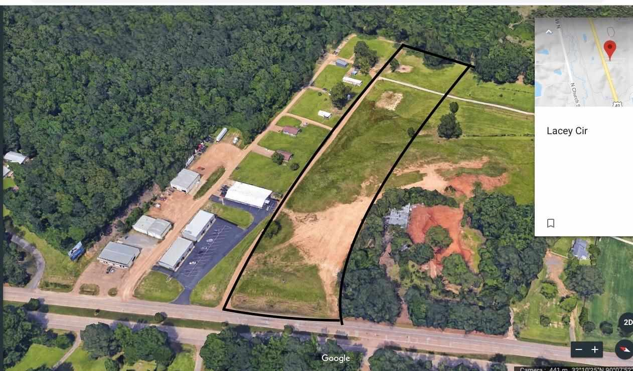 PREMIUM C3/C2 LOCATION of 7 +- Acres in Rankin Co, Florence, MS. Leveled and ready to build. 254 +- feet Frontage on busy US HWY 49. Per public data, current traffic count is 34,000 +- automobiles per day. MDOT is widening HWY 49 to 6 lanes in 2 cities for Massively Growing Traffic. From this property, it takes 8 +- miles north bound to the major Interstate 55 and 20. Hurry on Fast-Tract to claim this handsome land to start your business.