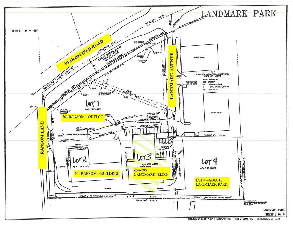 Landmark Park Bloomington, IN 47403