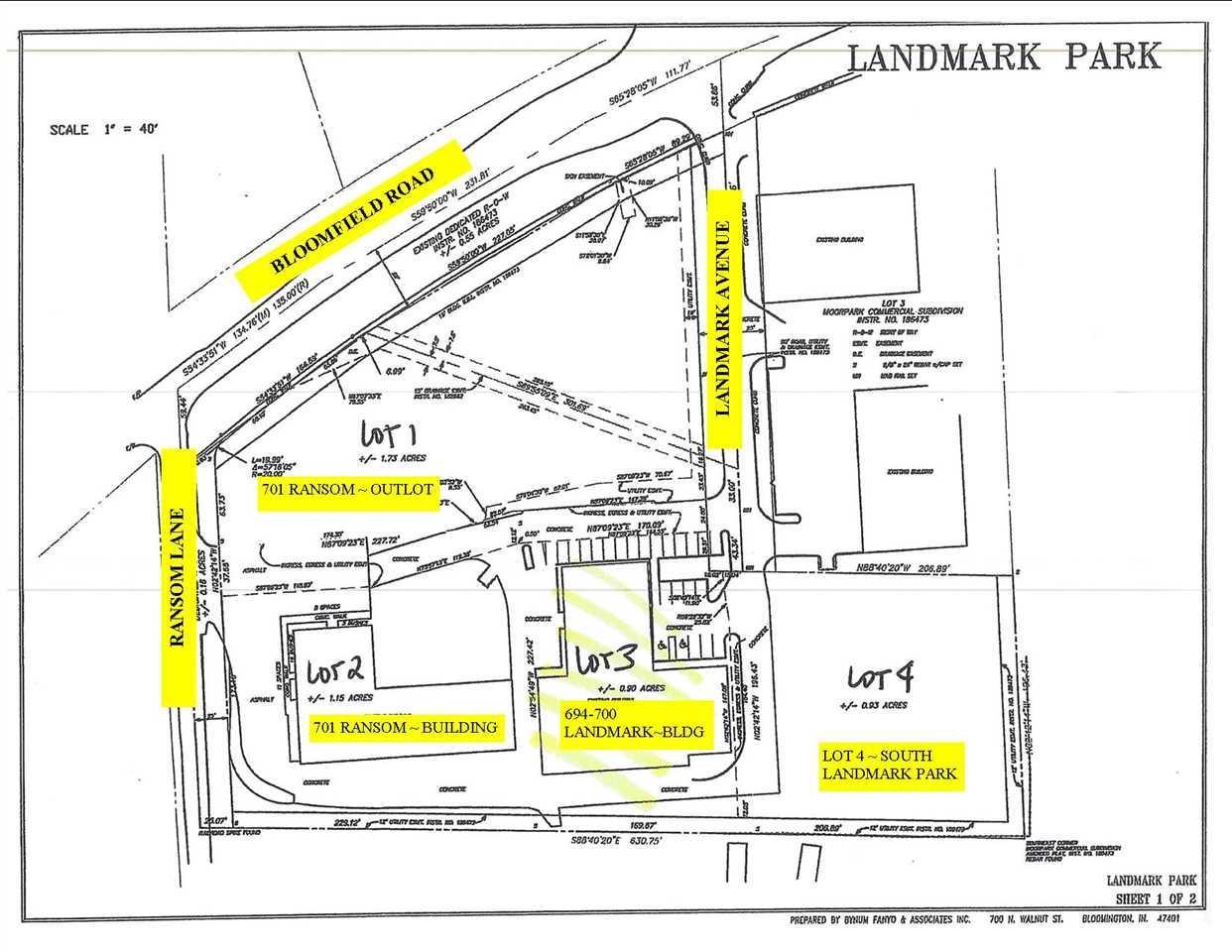 Lots 1-4  Landmark Park Bloomington, IN 47403