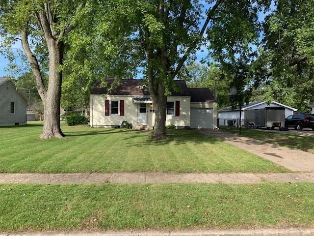 This adorable 3 bedroom, 2 full bath, living room, family room, large eat-in area, full basement, new, paint throughout, new carpet, hardwood floors, nice fenced in back yard with a deck is just waiting for you.