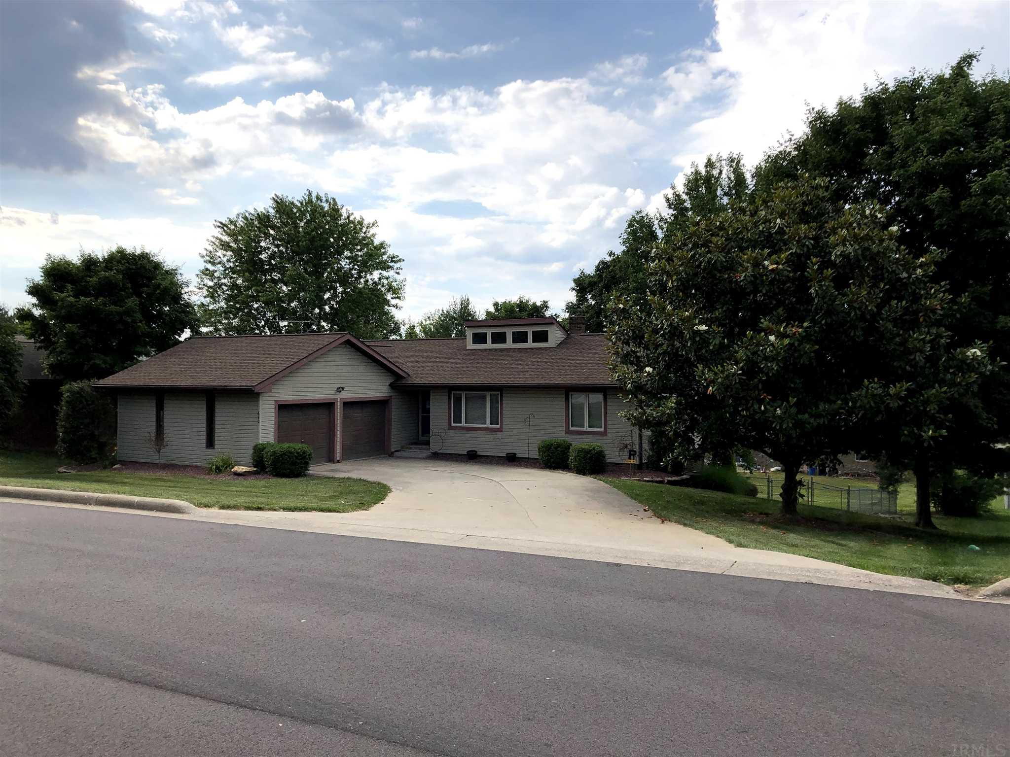 Motivated Sellers!! Check out this 3 bedroom, 2 and 1/2 bath home at its great and convenient location! Walking into the home, you will notice the open concept of the living room and dining room with recently replaced (2019) skylights. Upon entering the kitchen, you will notice the Shamrock cabinets and all the space and counter top space they provide. Off the dining room, you can step out onto the porch to enjoy your morning coffee or evening visit! Also, on the main level, you will find the master bedroom with a walk-in closet and master bath. The 2nd and 3rd bedrooms are off the living room with a guest bathroom between them. As you go in the basement, you will find a 28' x 24' spacious area with a bar and half bath for enjoying family time or entertaining purposes. The floor in the basement was stained in 2017. The basement also offers great storage space and a dark room. As you exit the basement door, you enter the fenced in backyard, great for little ones and/or pets to enjoy! Don't miss out on checking this home out!