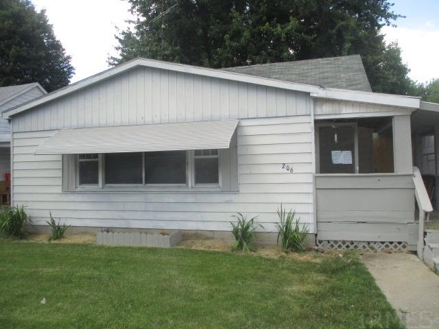 """This property features 3 bedrooms, 1 1/2 baths,full basement with large family room on main floor and living room. This property has abundant storeage space along with outbuilding for work shop, car storage and more. property is level for potential garden spot with shaded trees. HUD property:#151-849991, FHA Financing: IE (Insured Escrow),Repair Escrow: $6,500, 203K : Yes,  Subject property sold """"AS IS"""" and """"Where IS"""", """"Equal Housing Opportunity""""."""