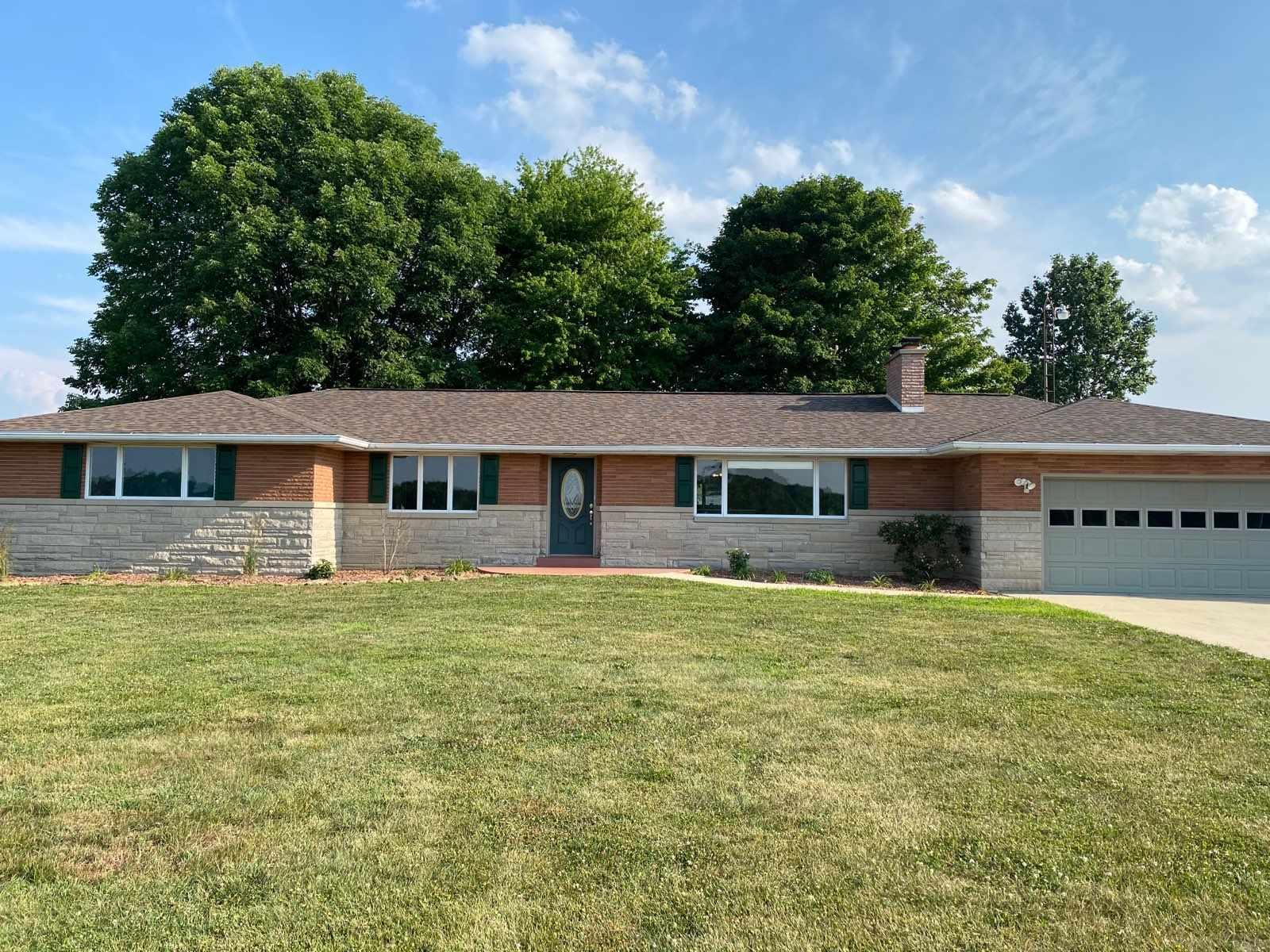 Amazing 4 Bedroom 3 bathroom home!  This property sits on 2.35 Acre and has a Magnificent Pond for Fishing and Swimming.  The House just had a brand new roof put on.  Has a open concept feel from the Kitchen, Dining, and Living Room.  The views are amazing and the property is minutes away from Patoka Lake!  If you are looking for a beautiful home with a quiet and private location, this is the house for you!  This property isn't going to last long.