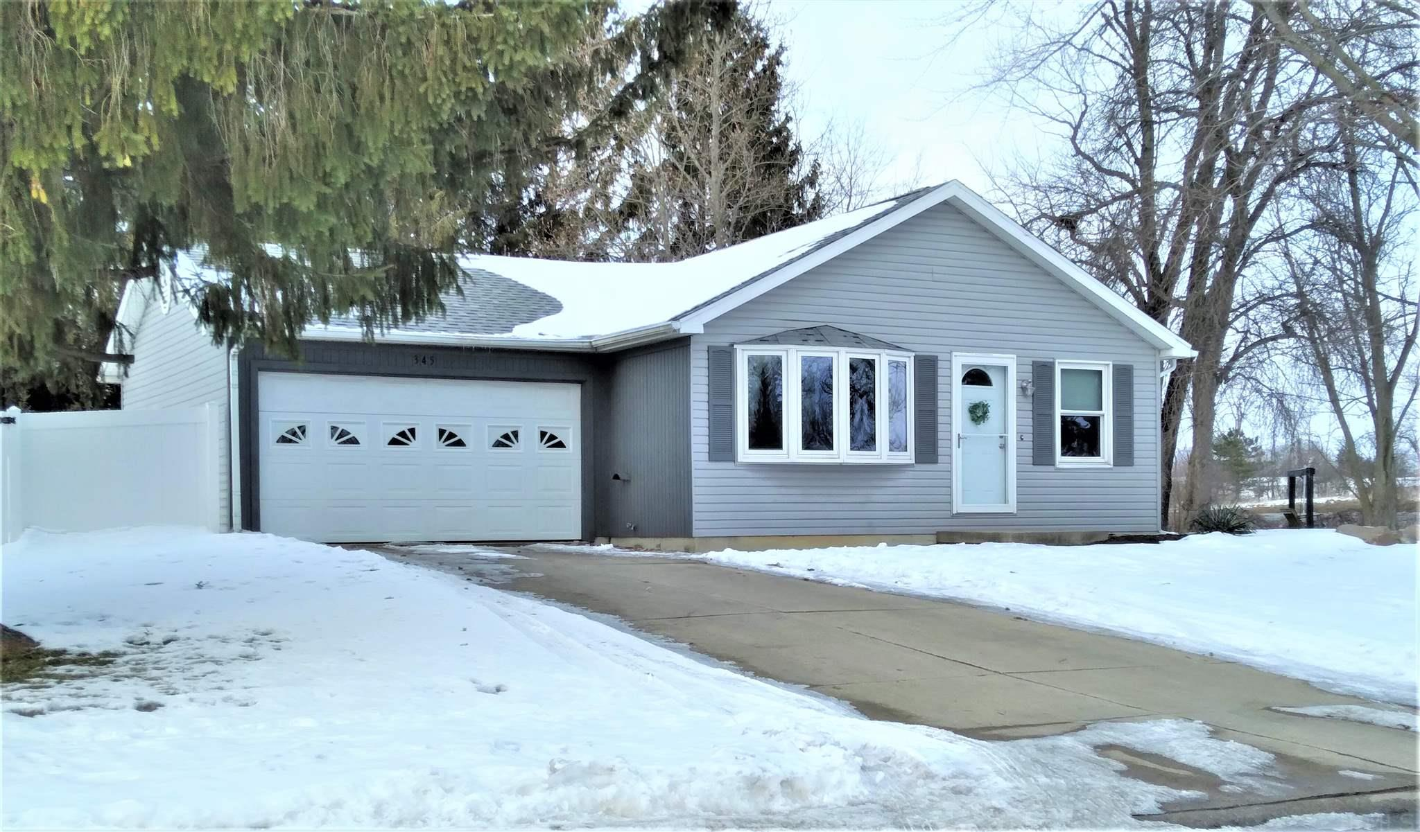 This house is move-in ready.  Roof, doors, windows, countertops, flooring, appliances installed spring of 2018.  Washer and dryer stay but are not new.  Three bedroom, large living room, eat in kitchen, one bath, 1/2 bath off utility room.  Attached, over-sized one car garage and a great privacy fenced in back yard.  Mayor's community park next door.  It's a way but you can walk to Morsches Park for ball parks, trails, playgrounds and community activities.  A great neighborhood to live in.  A great starter home.