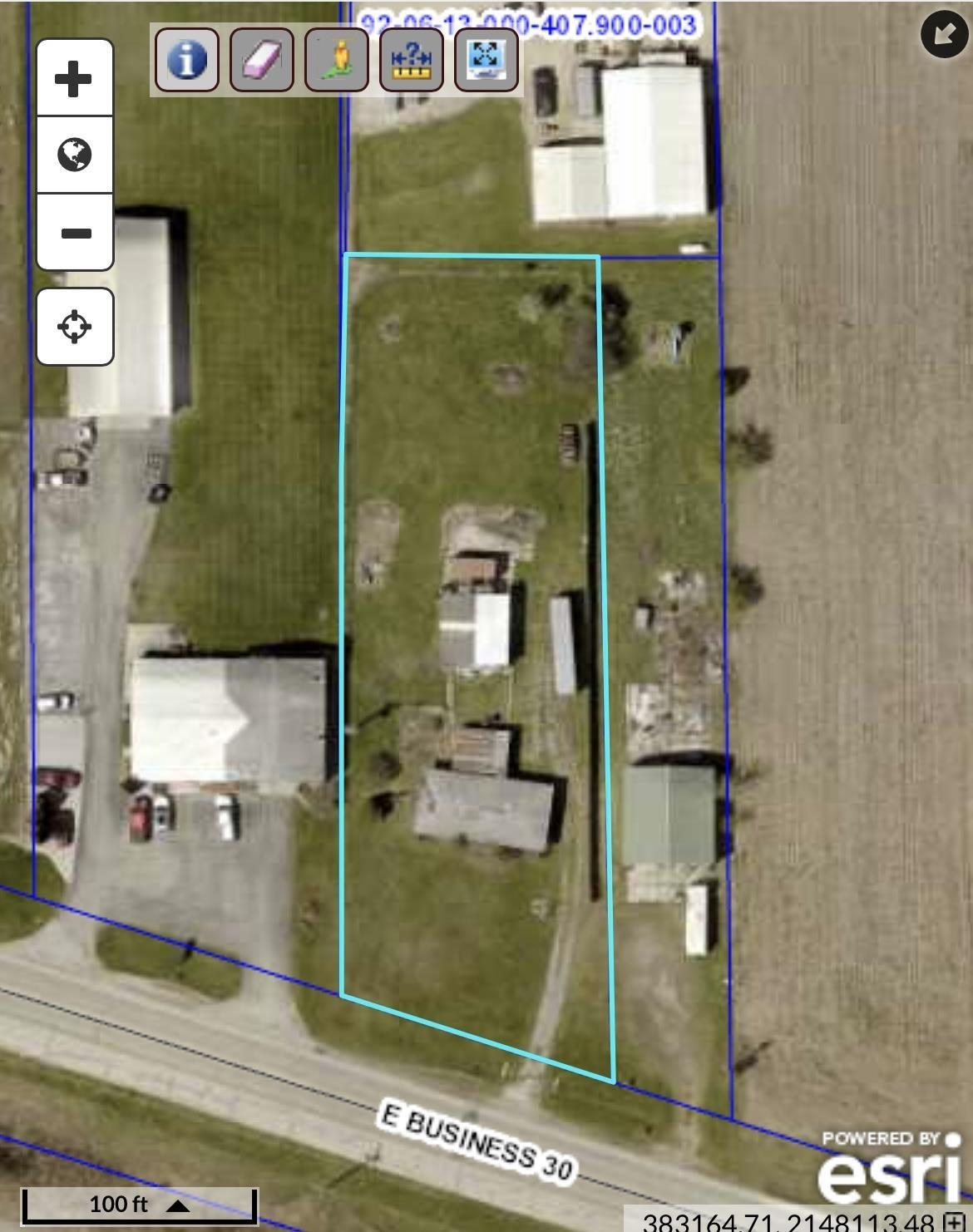 """Are you looking to start a business from the ground up? This piece of property is zoned General Business and has the opportunity to be about anything you desire! For a business, this lot is located near the new high school and is close to Highway 30 with a lot of in an out traffic daily. The lot is located just south of a growing addition and is central to several other businesses. The property got a new 6"""" well installed in 2013! Not looking for a lot for business? Because this property is zoned General Business, it has many other potential uses including residential. Do not miss out on your chance to explore the possibilities of this lot!"""
