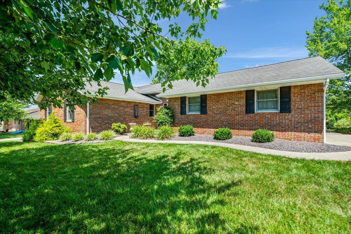 Perfectly set on a tree shaded lot, this beauty feels like home the minute you walk in the door. With three bedrooms and a finished basement this house is move-in ready.  The living room is warm and inviting with a sunroom attached to enjoy both morning and night.