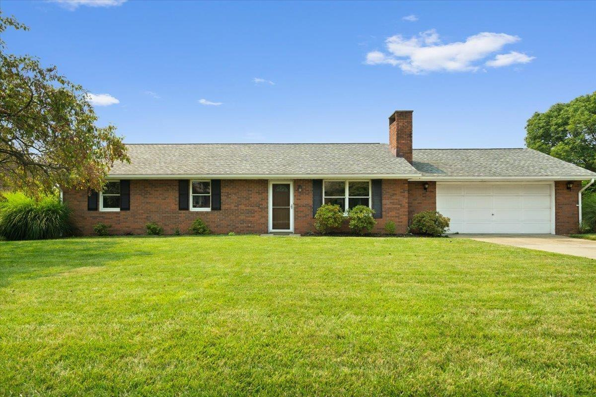 Check out this all brick, ranch home in the Holy Family neighborhood! Seller has been busy having rooms freshly painted, replacing fans and lighting, replacing bathroom vanities, and getting everything ready for a new owner! Features include 3 bedrooms, 1 and 1/2 baths, a nice sized living room with a bricked fireplace, and a 2 car garage. Updates include a 3 year old roof, a newer furnace, a/c, kitchen appliances, and washer and dryer. This home is move-in-ready and seller is offering immediate possession!