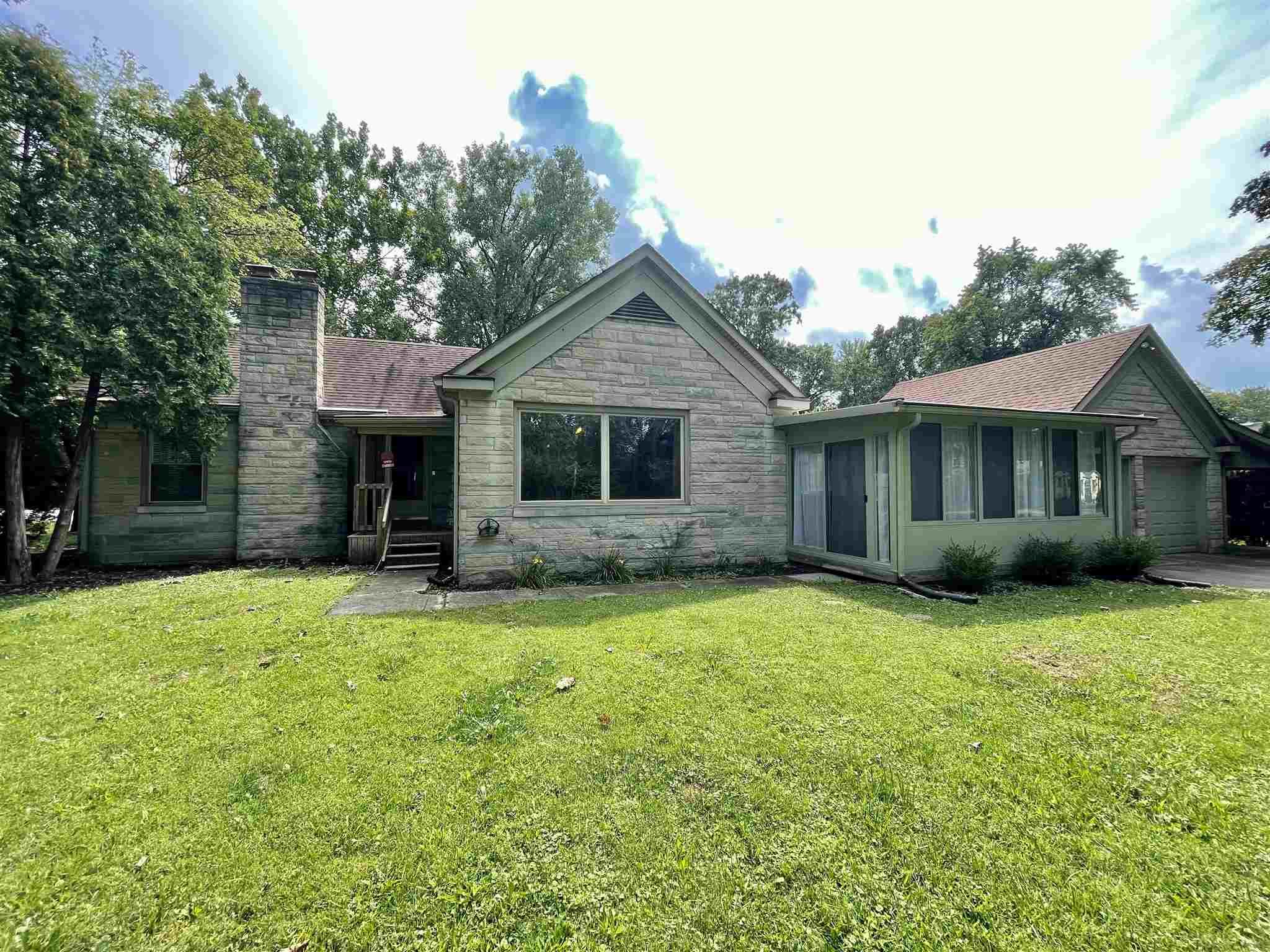 ** OPEN HOUSE SUNDAY 8/29 FROM 1PM to 4PM ** Retro and modern have collided on this STUNNING home! This ranch home sits on a massive full finished basement, has 3 bedrooms, 2 baths, all kitchen appliances stay, and the washer and dryer stay! With over 4000 square feet, there are endless ways to utilize the space. Every room of this house has its own special features that make this home so unique. With many large windows and picture windows, this home provides so much natural sunlight. There are TWO sun rooms and a 2 car attached garage with an extra covered space on the side. If this was your home, you would be conveniently located near Jefferson Point, the Lutheran Hospital, Target, and some of Fort Wayne's favorite restaurants. Do not miss out on your chance to see this charming home by scheduling your own personal private tour today!