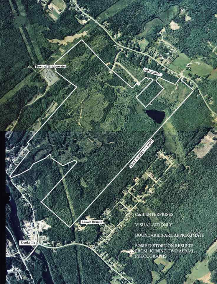 A wonderful opportunity to develop this large parcel of land that is approximately 325 acres consisting of 8 Pid's . Approximately 50 acres are in the town of Bridgewater and the remaining 275 acres are in the communities of Auburndale and Lower Branch that are surrounding Cook's Lake.  The drumlin formation slopes gradually downward from Southeast to Northeast and is characterized by good soil and drainage.  A paved street with 8 ft water main, sanitary sewer and 12 ft. storm sewer is already located in the Northeast corner.