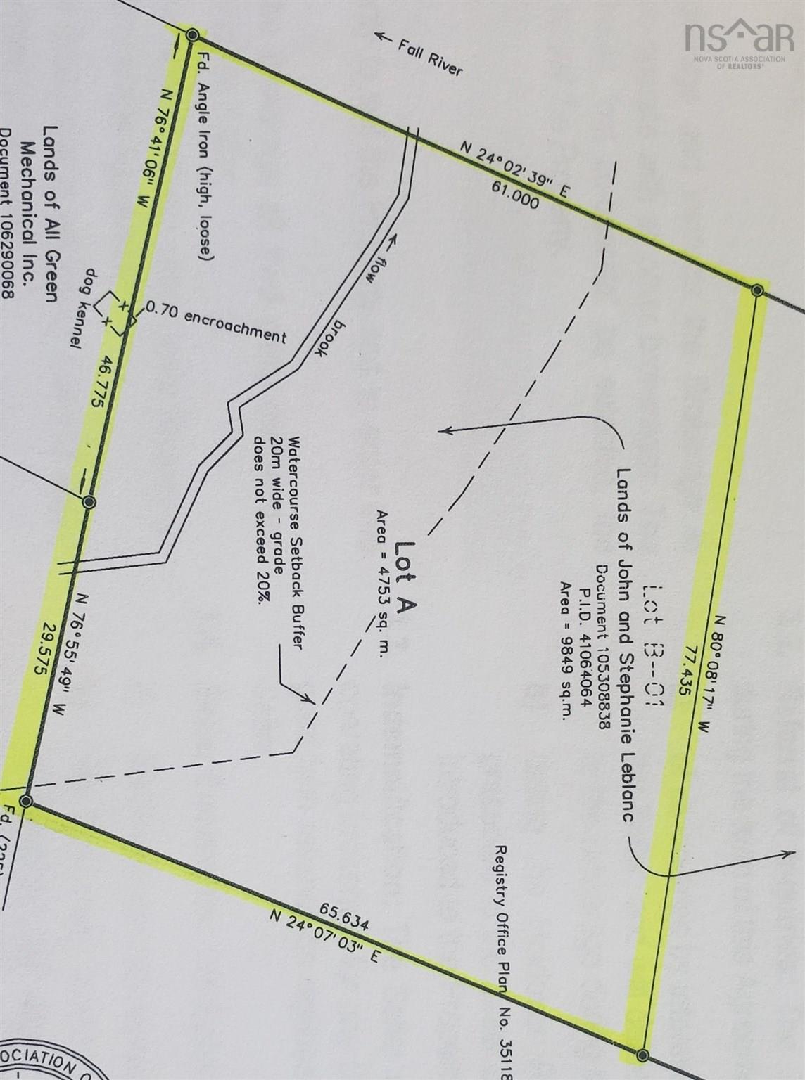 Lot A 4852 Highway 2, Wellington, NS (MLS® 202106438)